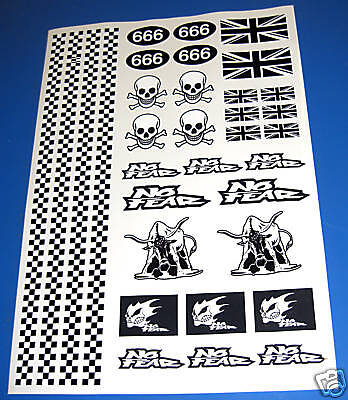RC Rat Look stickers decals Mardave Tamiya HPI Losi