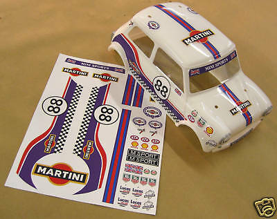 RC Tamiya Mini Martini decals kit stickers M01 M03 M05