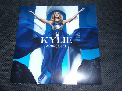 KYLIE MINOGUE Japan rare MINT promotional only APHRODITE CD foldout flyer