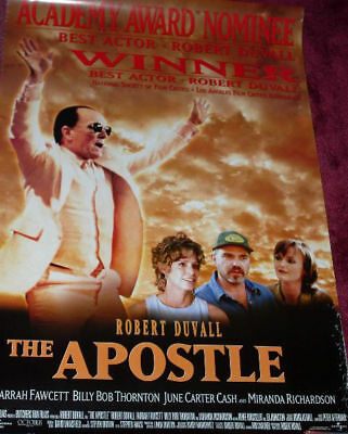 Cinema Poster: APOSTLE, THE 1997 (One Sheet) Robert Duvall