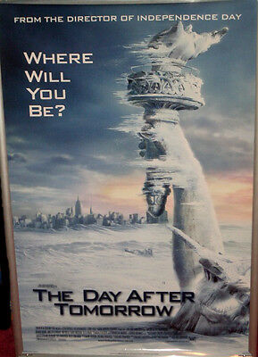 Cinema Poster: DAY AFTER TOMORROW 2004 (Frozen Liberty One Sheet ) Dennis Quaid