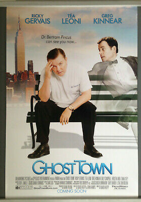 Cinema Poster: GHOST TOWN 2008 (One Sheet) Ricky Gervais