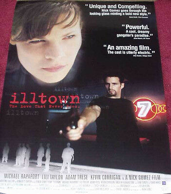 Cinema Poster: ILLTOWN 1996 (One Sheet) Michael Rapaport