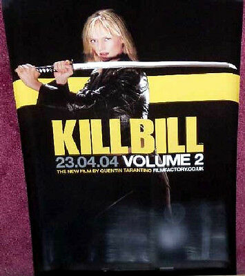 Cinema Poster: KILL BILL VOLUME 2 (Adv/Half) Tarantino
