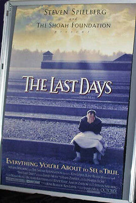 Cinema Poster: LAST DAYS, THE 1998 (One Sheet) James Moll
