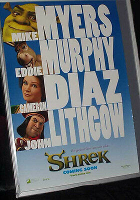 Cinema Poster: SHREK 2001 (Advance ) DreamWorks Mike Myers