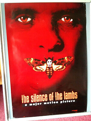 Cinema Poster: SILENCE OF THE LAMBS 1991 (One Sheet) Anthony Hopkins