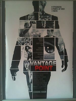 Cinema Poster: VANTAGE POINT 2008 (One Sheet) Dennis Quaid Sigourney Weaver
