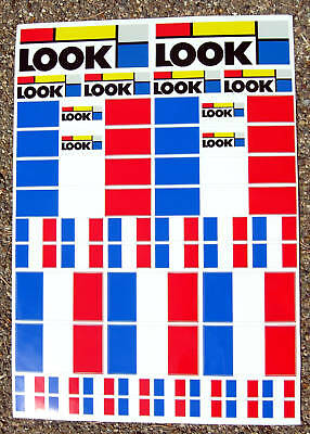 LOOK Cycle Bikes Frame Decals Stickers cycling MTB Road