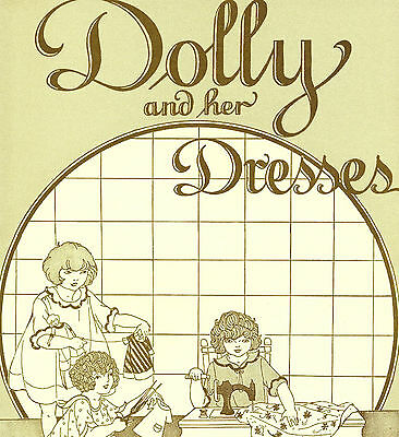 Antique 1920's Babbette-Dolly and Her Dresses Patterns
