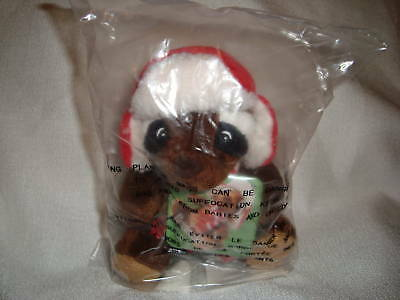 "Sears Raccoon 2009 Christmas Plush "" Reginald "" New"