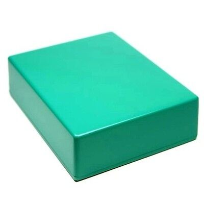 GREEN Guitar Pedal Enclosure - professionally painted - Hammond 1590BB size
