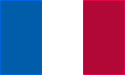4x6 FT 4 x 6 FT SEWN STRIPES FRENCH FRANCE  Nylon Flag