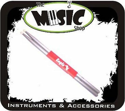 Eagle 5A Drumsticks Silver Nylon Tip New! Drum Sticks