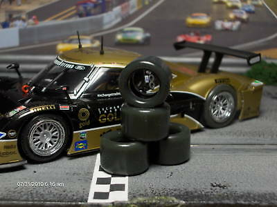 1/32 URETHANE SLOT CAR TIRES 2pr PGT-20125LM RACER Riley
