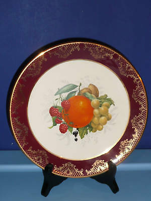 Weatherby Royal Falcon Ware Plate Hanley England fruit