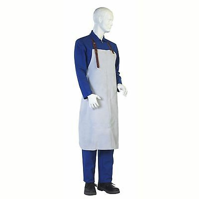 High Quality Protective Chrome Leather Welders / Welding Apron - Buckle & Strap