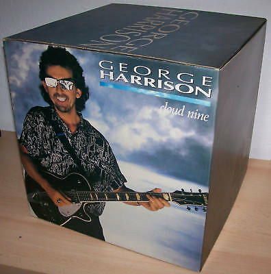 "George Harrison : Cubo Cartonato Pubb.""cloud Nine"" 1987"