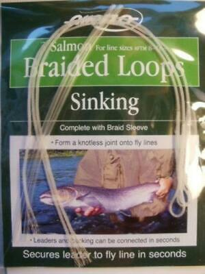 Airflo Poly Leader Braided Salmon Loops Sinking x3