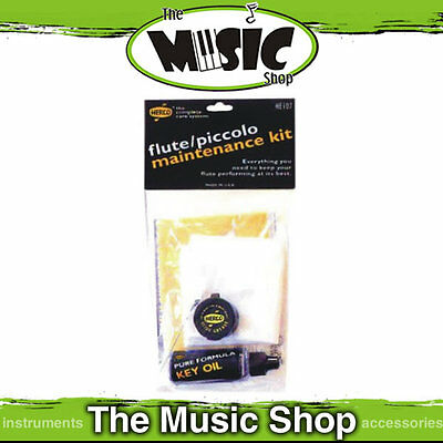 Herco Flute Maintenance Cleaning kit New The Music Shop