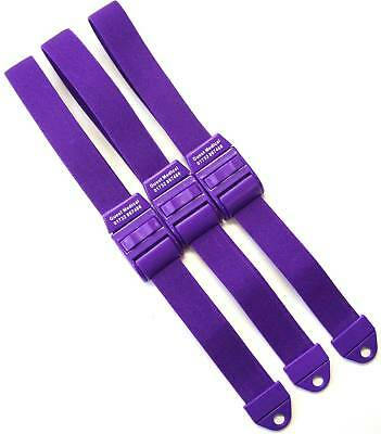 New PURPLE Tourniquet quick and slow release - x 3