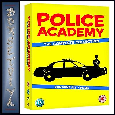 Police Academy Complete Collection 1 2 3 4 5 6 & 7- **Brand New Dvd Boxset**