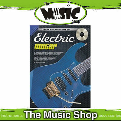 Progressive Electric Guitar Lesson Book with CD - New Tuition Book