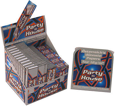 PARTY IN HOUSE Silver Rolling Papers, Testpaket