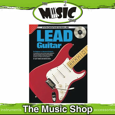 New Progressive Lead Guitar Music Book with CD