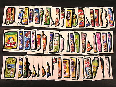 2006 Topps Wacky Packages ANS4 Series 4 COMPLETE BASE SET of 55 stickers nm+