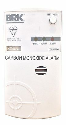 BRK CO850MBXI Carbon Monoxide Alarm Mains/Battery