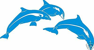 Dolphin Sticker Decal For Car, Ute,surf Board Windows