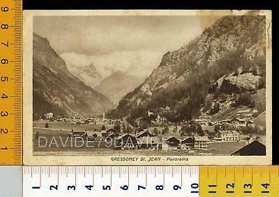 29031] Aosta - Gressoney St. Jean - Panorama 1947