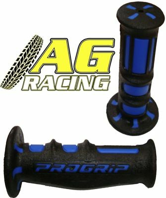 Pro Grip Progrip 601 Scooter Grips Blue Black Dual