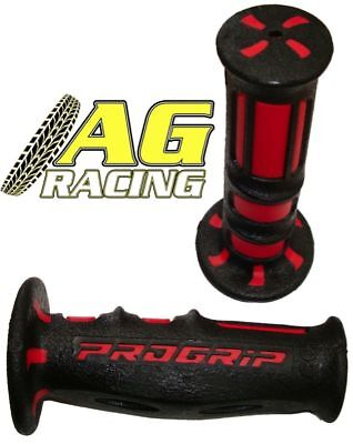 Pro Grip Progrip 601 Scooter Grips Red Black Dual Grips