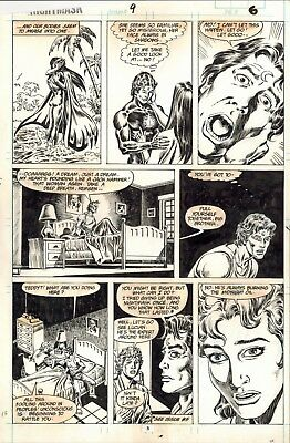Mark Bagley 1St Published Comic Artwork Original Art Page Marvel Comics Nm #9