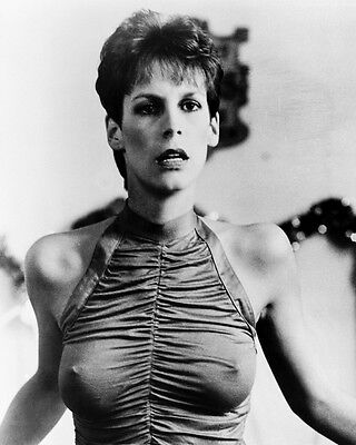 Trading Places Jamie Lee Curtis 8X10 Photo Busty Figure Hugging Dress