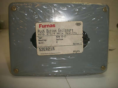 Furnas Siemens 52EA21A Push Button Enclosure 2 Units