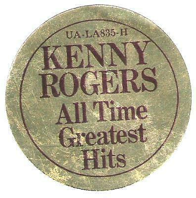 Kenny Rogers / Ten Years of Gold / United Artists / '77