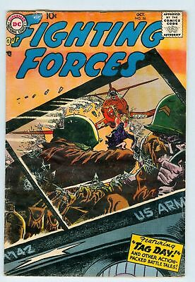 Our Fighting Forces #26 October 1957 VG Russ Heath art