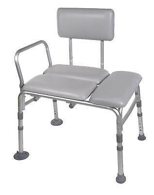 Drive Padded Transfer Bench Bath Tub Shower Seat 400 lb  12005KD-1