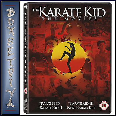 The Karate Kid - The  Movies Collection 1 2 3 & 4  -  **Brand New Dvd Boxset**