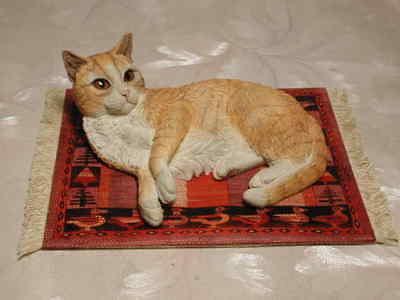 Katze RAMSES by Lesley Anne Ivory Country Artists Cat Enesco #CA02021