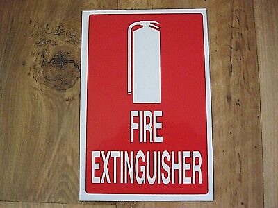 Fire Extinguisher Sign, Small, Safety, Protection, New  Peel And Stick Back!!