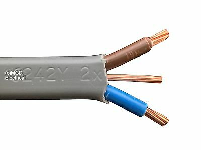 25mts 10mm Twin /& Earth Shower Cable 6242YH