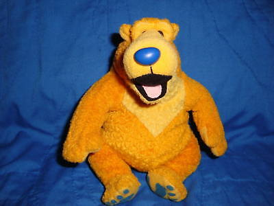 Bear in the big blue house plush Beanbag BEAR 6""