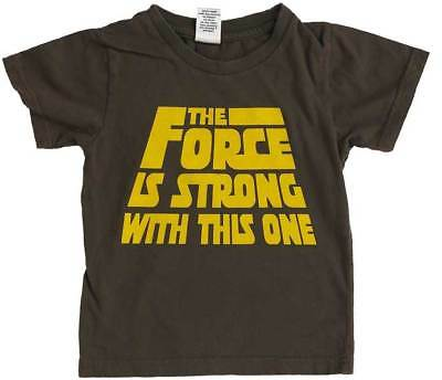 THE FORCE IS STRONG WITH THIS ONE WELL SPOTTED T-SHIRT New Australian Made