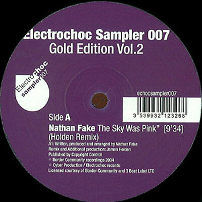 "Extrawelt SOOPERTRACK, Nathan Fake SKY WAS PINK, Fairmont Gazebo New 12"" Vinyl"