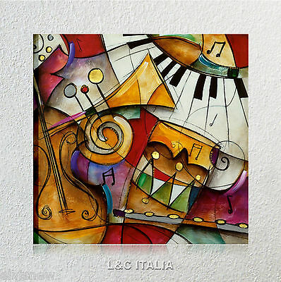 Jazz it up Waugh QUADRO MODERNO STAMPA TELA QUADRI ARREDAMENTO CASA ARTE