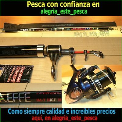 PESCA EQUIPO SURF CASTING (TURNAFRESH 4.20mts acc.250grs + PHENOM 100)